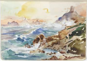 Carnet B. Ajaccio, presque île de la Panata et les îles Sanguinaires (Canavaggio Jean) - Muzeo.com