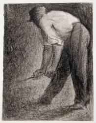Casseur de pierres (Seurat Georges) - Muzeo.com