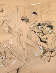Chocolat dansant (Toulouse-Lautrec Henri de) - Muzeo.com