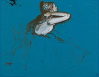 Danseuse assise, tournée vers la droite (Degas Edgar) - Muzeo.com