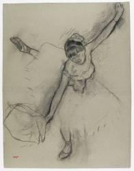 Danseuse saluant (Degas Edgar) - Muzeo.com