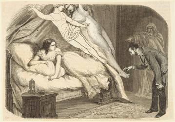 Deux corps se placent parallèlement à leur corps en tombant (Ernst Max) - Muzeo.com
