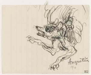 Etude de chien ou de loup (Anquetin Louis) - Muzeo.com