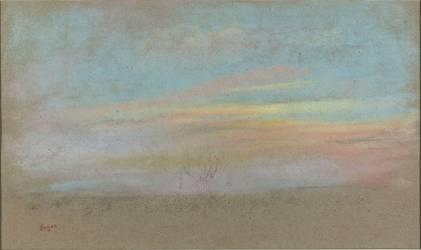Etude de ciel (Degas Edgar) - Muzeo.com