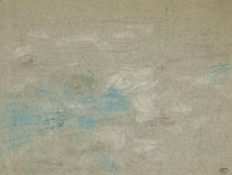Etude de nuages (Eugène Boudin) - Muzeo.com