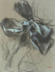 Etude d'un noeud de ruban (Degas Edgar) - Muzeo.com