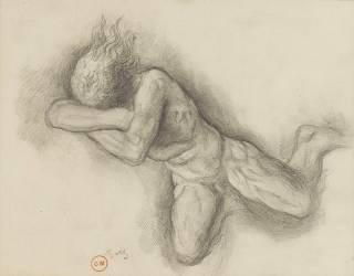 Etude pour Jupiter et Sémélé (Moreau Gustave) - Muzeo.com