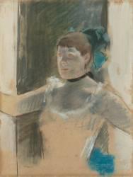 Etude pour le buste d'une danseuse (Degas Edgar) - Muzeo.com