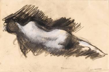 Etude pour le Rêve? (Henner Jean Jacques) - Muzeo.com