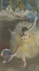 Fin d'arabesque ou Danseuse saluant (Degas Edgar) - Muzeo.com