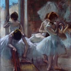 Groupe de danseuses (Degas Edgar) - Muzeo.com
