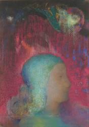 Jeanne d'Arc (?) (Redon Odilon) - Muzeo.com