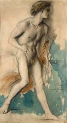 Jeune frondeur (Moreau Gustave) - Muzeo.com