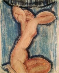 La cariatide (Modigliani Amedeo) - Muzeo.com