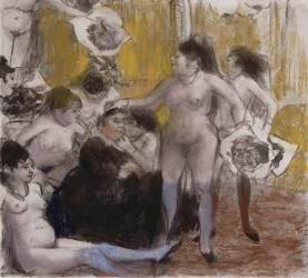 La Fête de la patronne (Degas Edgar) - Muzeo.com
