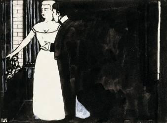La Tentation (Vallotton Félix) - Muzeo.com
