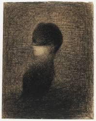La Voilette (Seurat Georges) - Muzeo.com