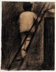 Le Badigeonneur (Seurat Georges) - Muzeo.com