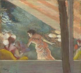 Le Café-Concert aux Ambassadeurs (Degas Edgar) - Muzeo.com