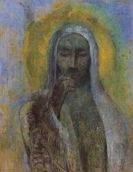 Le Christ du silence (Redon Odilon) - Muzeo.com