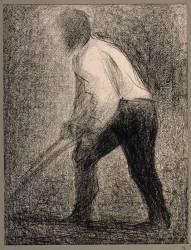 Le Laboureur (Seurat Georges) - Muzeo.com