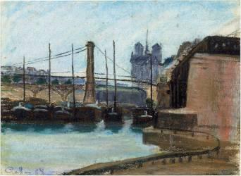 Le pont d'Austerlitz (Guillaumin Armand) - Muzeo.com