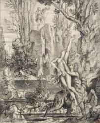 L'Enlèvement de Déjanire (Moreau Gustave) - Muzeo.com