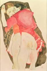 Lovers (Schiele Egon) - Muzeo.com