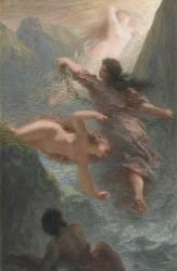 Les Filles du Rhin ou L'Or du Rhin (Fantin-Latour Henri) - Muzeo.com