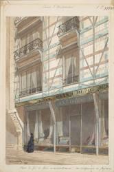 Maisons à pans de fer et revêtement de faïence (Viollet-Le-Duc Eugène) - Muzeo.com