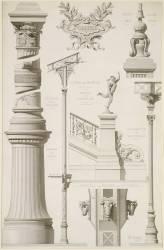 Motifs de décoration métallique du palais des Beaux-Arts et des Arts Libéraux (Formigé Jean-Camille) - Muzeo.com