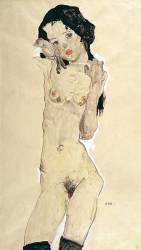Nude (Schiele Egon) - Muzeo.com