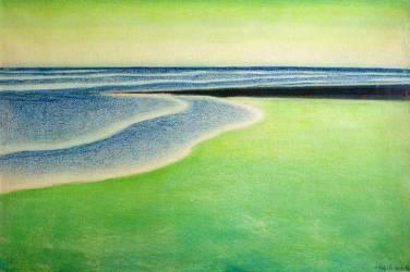 Green Seascape (Spilliaert Léon) - Muzeo.com