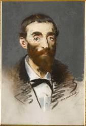 Portrait de Jean de Cabanès, dit Cabaner (Manet Edouard) - Muzeo.com