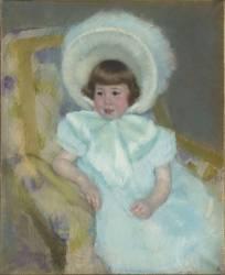 Portrait de Louise-Aurore Villeboeuf enfant (Cassatt Mary) - Muzeo.com
