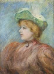 Portrait de Mademoiselle Dieterle (Renoir Auguste) - Muzeo.com