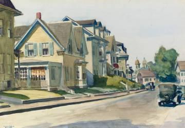 Prospect Street, Gloucester (Edward Hopper) - Muzeo.com