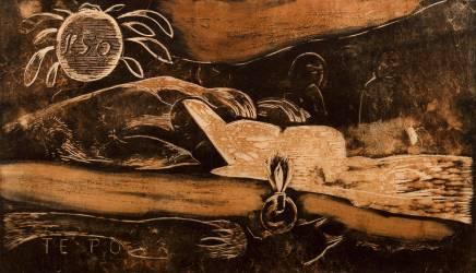 Te Po (La nuit), suite destinée à illustrer Noa Noa (Gauguin Paul) - Muzeo.com