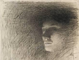 Visage d'une jeune personne ;: étude pour le Concert Colonne (Laurent Ernest Joseph) - Muzeo.com