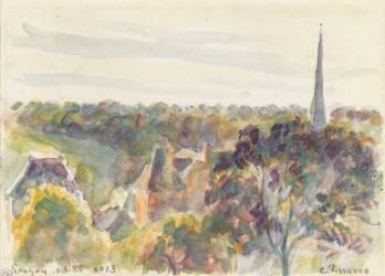 Vue d'Eragny (Pissarro Camille) - Muzeo.com