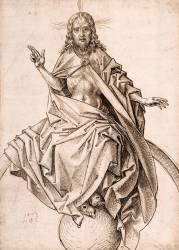 Le Christ du Jugement dernier (Schongauer Martin) - Muzeo.com