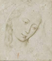 Tête de vierge (Van der Weyden Rogier) - Muzeo.com