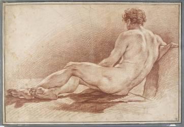 Académie d'homme (Drouais François-Hubert) - Muzeo.com