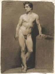 Etude d'homme nu (Ducornet Louis Joseph César) - Muzeo.com