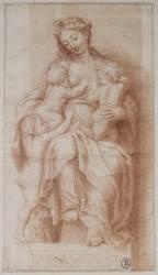 La Charité (,D'après Raphaël (dit),...) - Muzeo.com