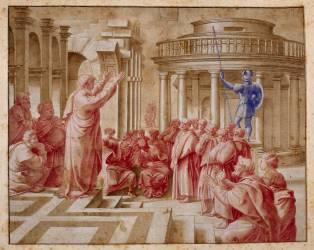 La Prédication de saint Paul aux Athéniens (,D'après Raphaël (dit),...) - Muzeo.com
