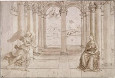 L'Annonciation (Raphaël) - Muzeo.com