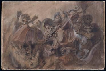 Les monstres de l'enfer (Rubens Pierre Paul (attribué...) - Muzeo.com