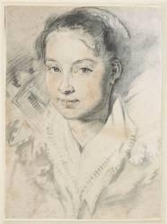 Portrait de jeune fille (Rubens Pierre Paul) - Muzeo.com