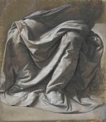 Draperie pour une figure assise (Leonardo da Vinci) - Muzeo.com